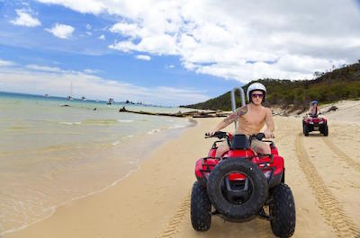 ATV in St. Martin