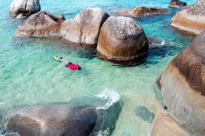 Day trip to the British Virgin Islandsin St. John