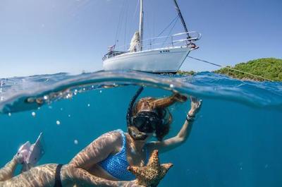 Deserted Island Snorkeling Cruise in Fajardo