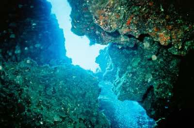Devil's Grotto in Grand Cayman