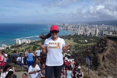 Diamond Head Running Tour in Oahu