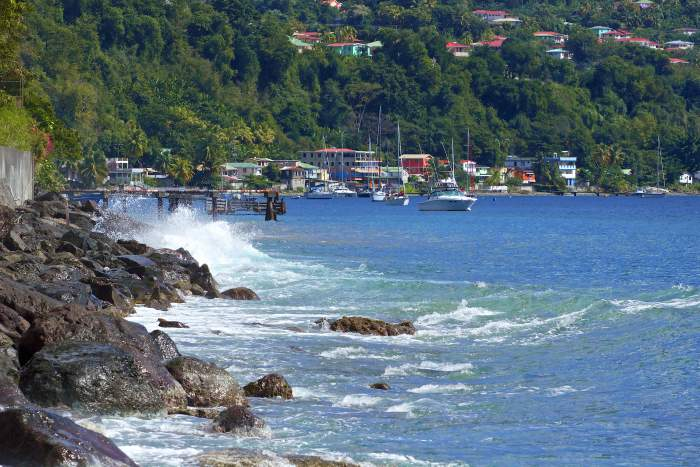 Dominica island- waterfront