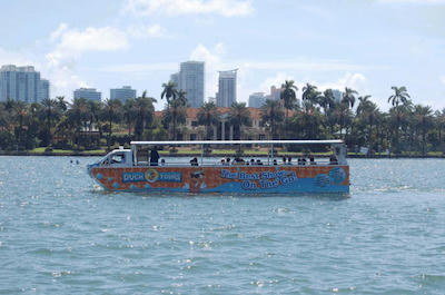 Duck Tours in Miami