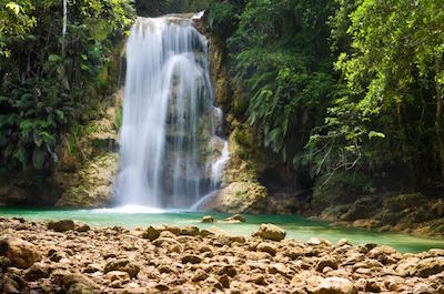 things to do in samana - El Limón Waterfall