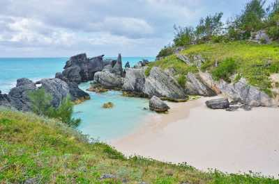 Elbow Beach in Bermuda