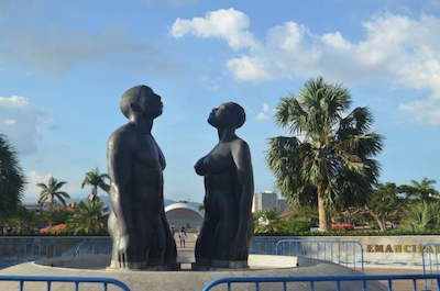 Emancipation Park in Kingston