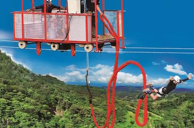 Extreme Bungee Jumping Tour in Monteverde