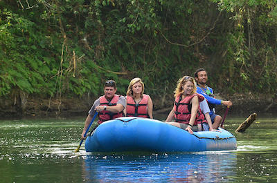 Float trips in Arenal