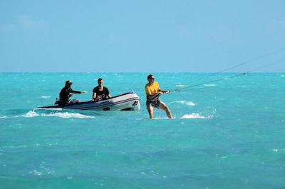 Flyboarding and Kiteboarding in Providenciales, Turks and Caicos
