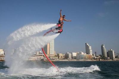 Flyboarding in Miami