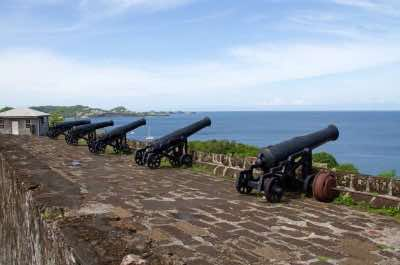 Fort George in Grenada