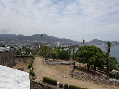 Fort of San Diego in Acapulco