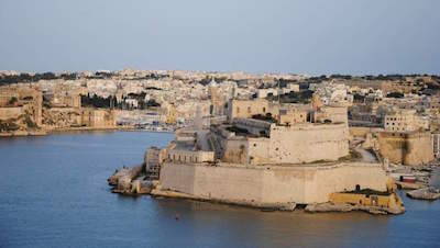 Fort Saint Angelo in Malta