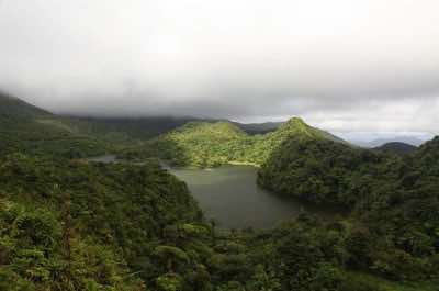 Freshwater Lake in Dominica