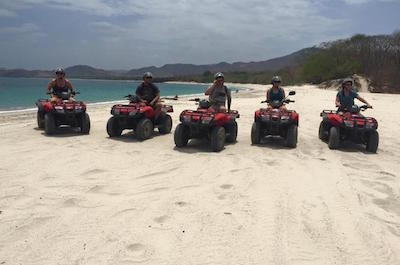 From Playa Flamingo 4WD, ATV & Off-Road Tours in Guanacaste