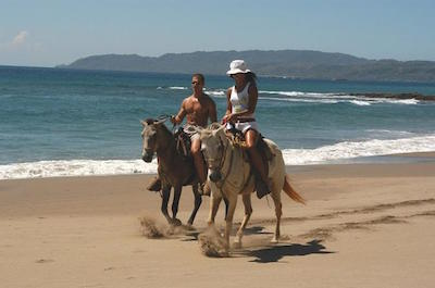 From Playa Flamingo Horseback Riding in Guanacaste