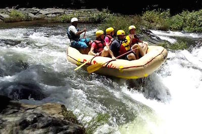 From Playa Flamingo White Water Rafting in Guanacaste