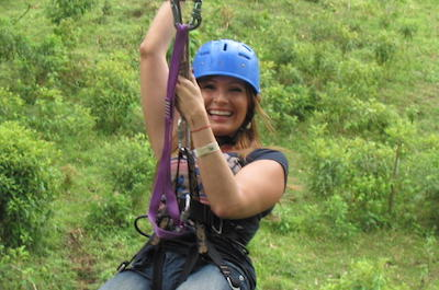 From Playa Flamingo Ziplines in Guanacaste