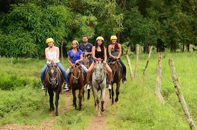 From Playa Hermosa Horseback Riding Tours in Guanacaste