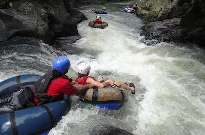 From Playa Hermosa White Water Rafting in Guanacaste