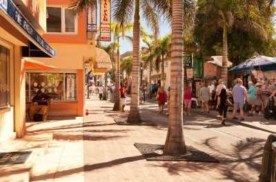 Front Street in St. Maarten
