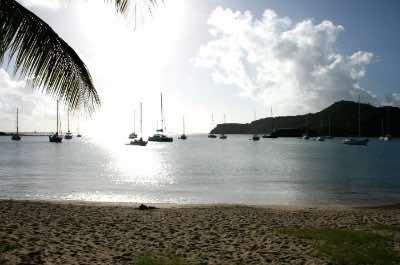 Galleon Beach in Antigua