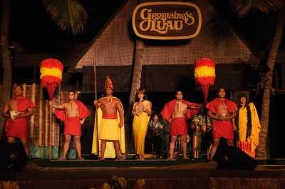 Germaine's Luau in Oahu