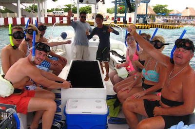 Glass Bottom Boat Tours in Cozumel