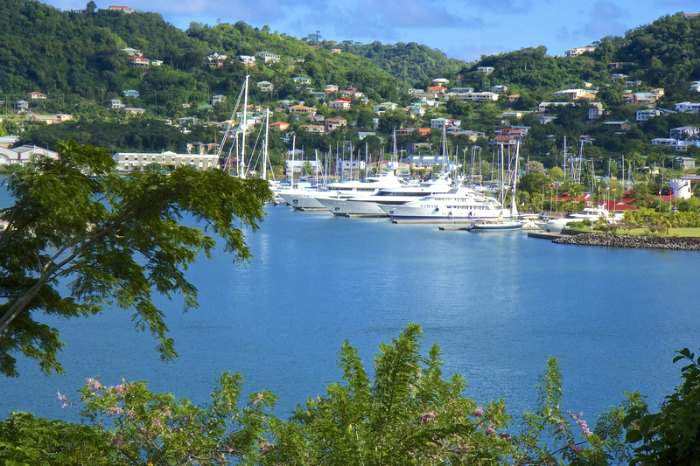 Beautiful Grenada island