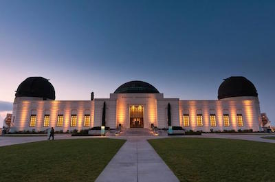 Griffith Observatory in Los Angeles with kids