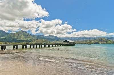 Hanalei Bay in Kauai