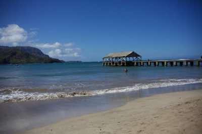 Hanalei Pier in Kauai