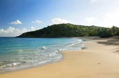 Happy Bay Beach in St. Martin