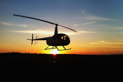Helicopter tours in Key West