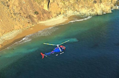 Helicopter tours in Long Beach
