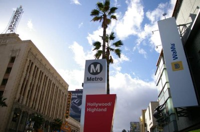 Hollywood and Highland Center Mall in Los Angeles