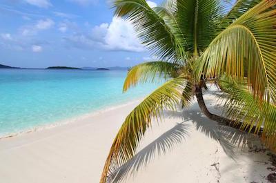 Honeymoon beachin St. John