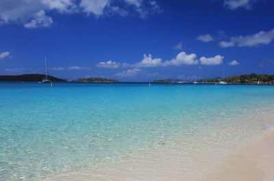 St. Thomas Honeymoon Beach