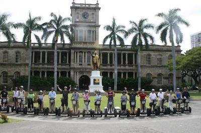 Honolulu History and Culture Segway Tour