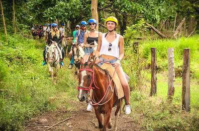 Horseback riding in Liberia