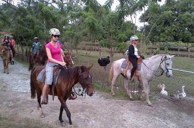 Horseback riding in Puerto Plata