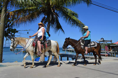 Horseback Riding in Roatan