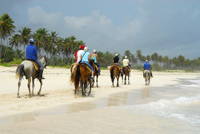 Horseback riding in Puerto Vallarta