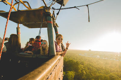 things to do in orlando besides theme parks - Hot Air Balloon Ride
