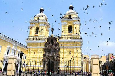 Iglesia y Convento de San Francisco in Lima