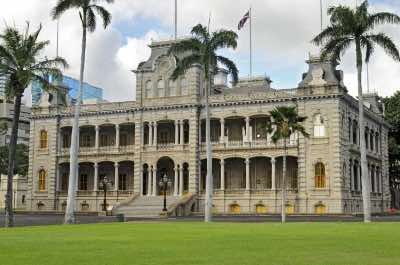 'Iolani Palace in Honolulu