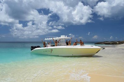 Jet Boats & Speed Boats in St. Maarten