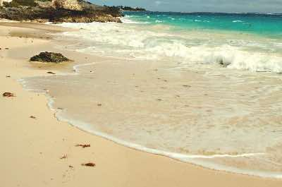 John Smith's Bay Beach in Bermuda