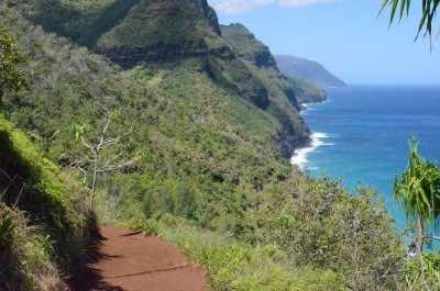 Kalalau Trail in Kauai