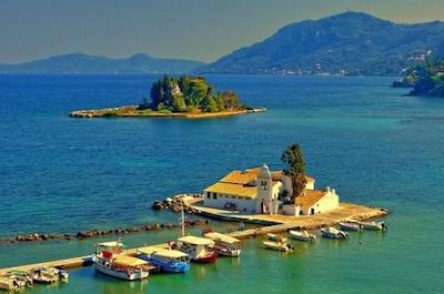 Kanoni in Corfu